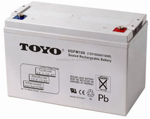 12V100AH sealed lead acid rechargeable battery