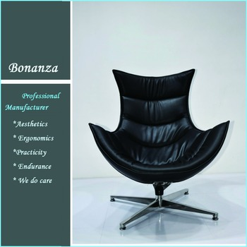 Lounge Stoel Modern.Ch 006 Modern Leather Lounge Chair Cocoon Chair For Living Room Buy Modern Leather Lounge Chair Cocoon Chair Living Room Chair Product On