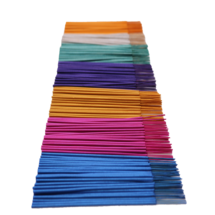 Hot Deal Indian Incense Joss Sticks Natural Full Color unscented incense sticks