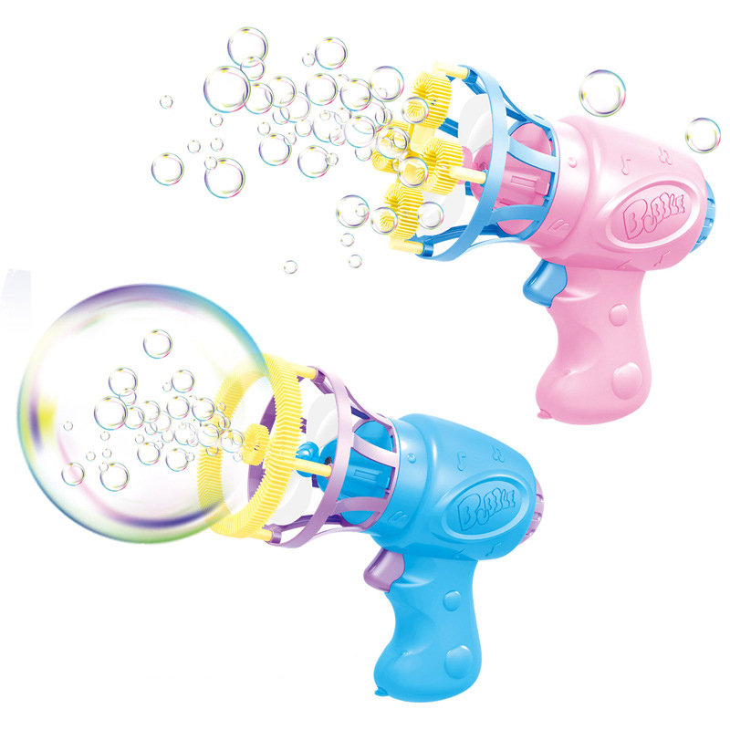 Lovely Shape Baby Kids Water Blowing Toys Bubble Gun Soap Bubble Maker Blower gZ