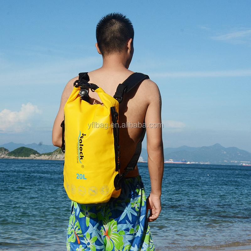 Leader Accessories Deluxe Waterproof Pvc Tarpaulin Dry Bag Day Dry Backpack  5l 10l 20l - Buy Tarpaulin Dry Bag 3fb857641b09a