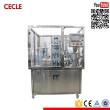 Stainless steel automatic coffee capsule making machine