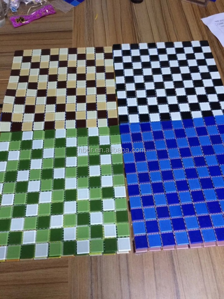 Wholesale price mosaicos for pools,kitchen,bathroom decoration chip 10*10mm mosaic