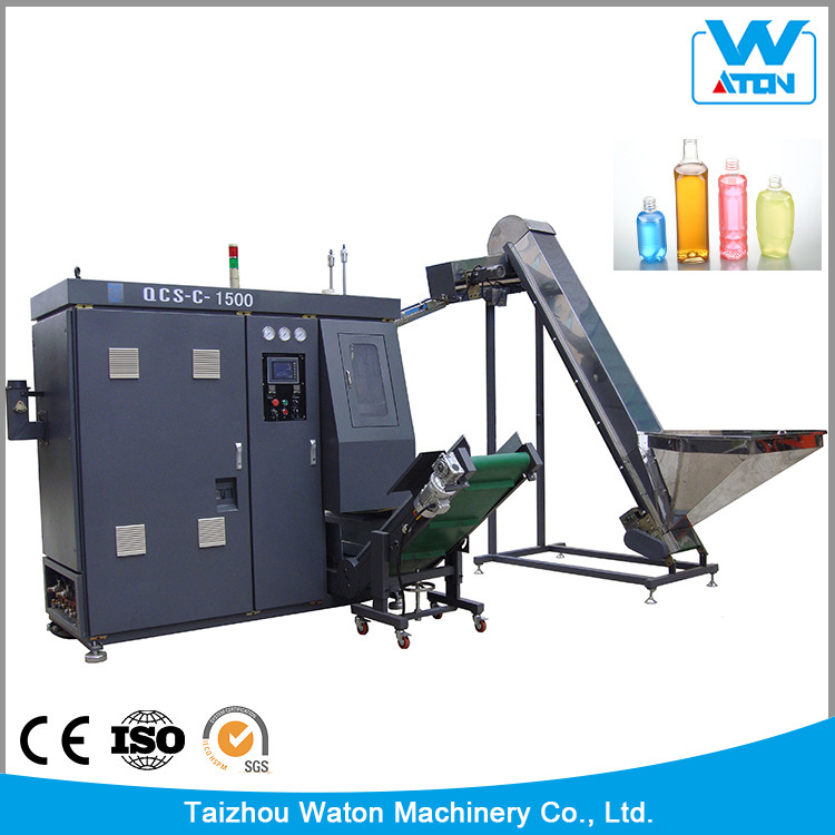 Cheap Fast Extrusion Blow Molding Machine With Liquid Lever Line