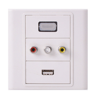 hot price made in china VGA wall mount faceplate