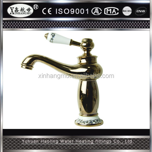 Single Hole Brass Basin Application Bathroom Vessel Sink Faucet Shower Sanitary Wares