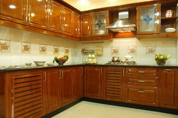 Modular Kitchen Wardorbe Pooja Unit Buy Interior Work Product On