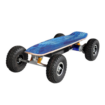 Fastest And Long Range 4000W Off Road Electric Skateboard With Remote