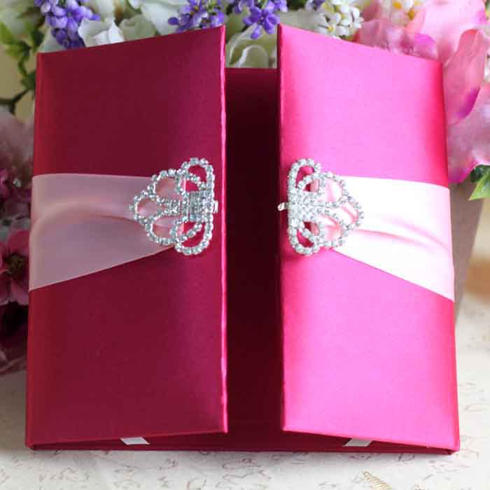 Silk Box Wedding Invitation Suppliers And Manufacturers At Alibaba