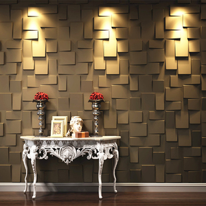 China wall art decor pvc 3d wallpapers/wall coating 3d home decor european style
