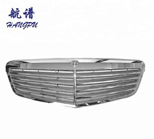 wholesale car accessories chrome grill for Mercedes E-class W212 radiator grille A2128800283/0983