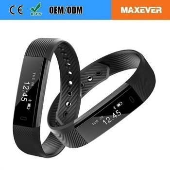 very fit smart band instructions