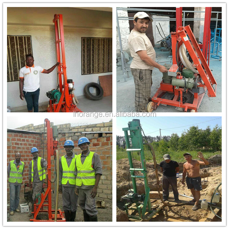 Water well drilling rig / used portable water well drilling rigs for sale
