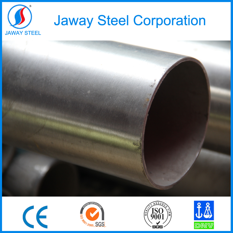 original manufacturer Jaway directly sale per ton food grades large diameter stainless steel pipe cuts