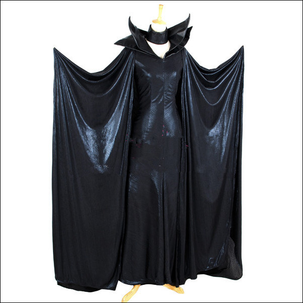 Buy Newest Movie Maleficent Evil Queen Black Cosplay Costume