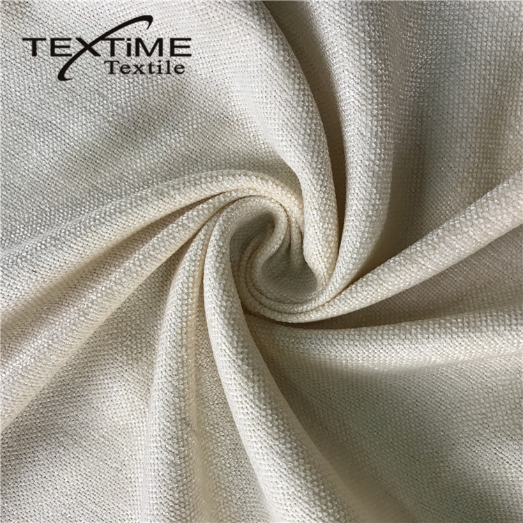 Good Price Soft 100% Polyester Print Imitate Linen Look Fabric For Dress Garment Curtain