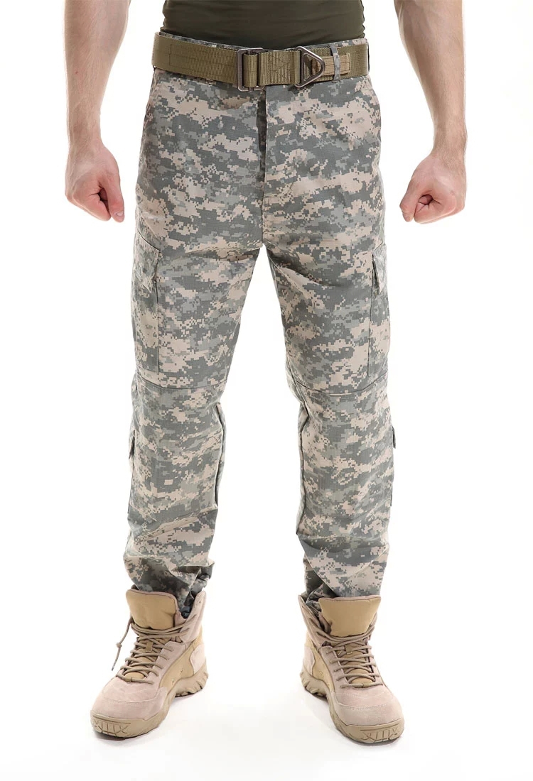 Get Quotations · ACU camouflage trousers slacks and anti-scrape tactical  pants male combat pants wearing combat trousers d581fcb19732