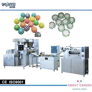 COLORFUL HARD CANDY MAKING MACHINE MAKING PLANT