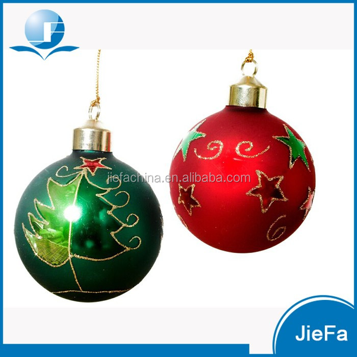 Factory price christmas balls glass ornaments buy