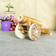 Pine Grinding Woodwork Gun Home Furnishing Toys Miniature Decorative Antique Wooden Cannon Models