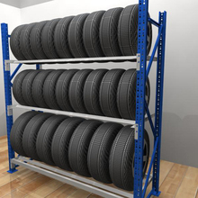 Stackable storage metal tyre pallet rack for tire storage