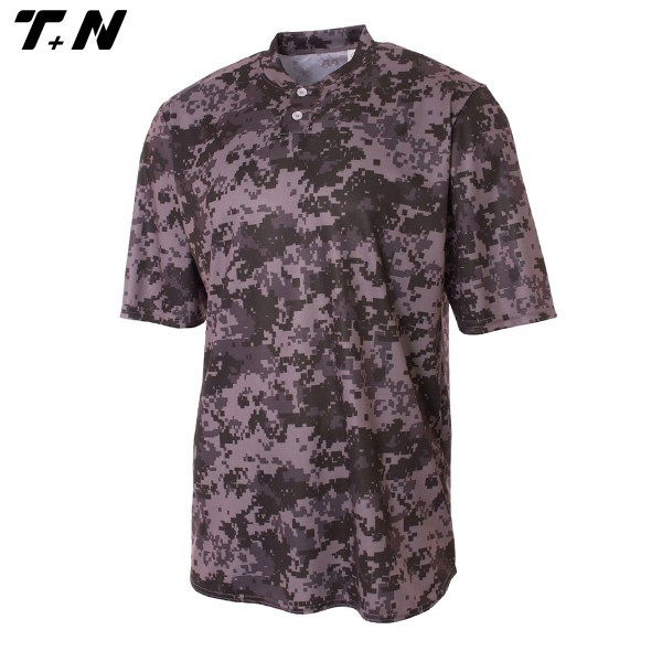 Digitale camo honkbal jersey gesublimeerd/volledige sublimatie honkbal jerseys