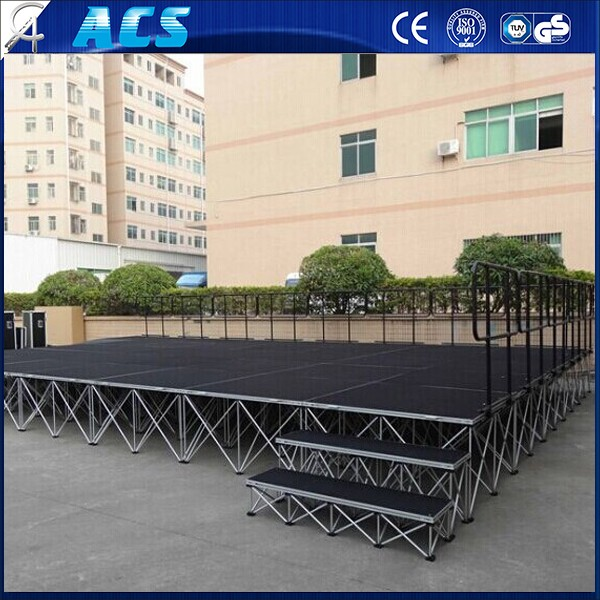 ACS diy magic portable stage &wedding stage &mobile stage for sale