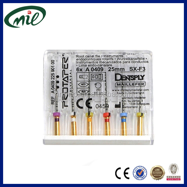Dental consumable material root canal instruments endodontic files/dental rotary files/dental endo files