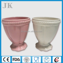 Novelty customized ceramic ice cream cup wholesale