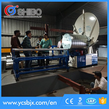 Spiral duct manufacturing machine with 1500mm diameter