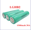 Rechargeable 3.8v 1500mah li-ion battery LG hb2 high discharge 30a 18650 ecigarette battery