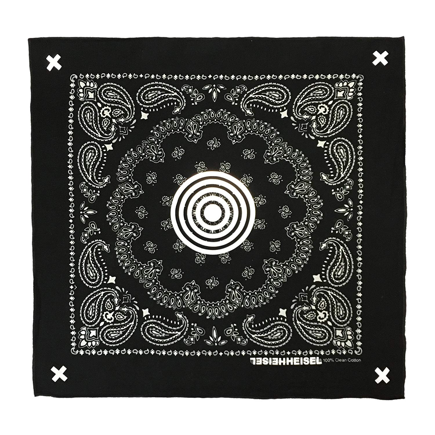 Get Quotations · 3M Reflective Paisley Bandana by Heisel b9191a09f5d9