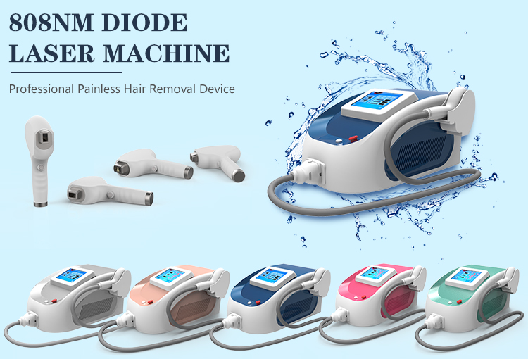 Self-protection system double filters 808 diode laser hair removal for salon spa