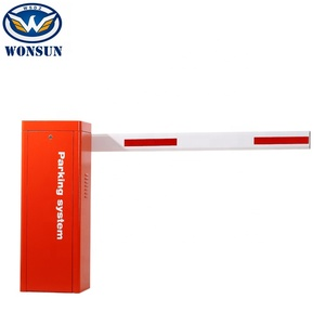 China Supplier Remote Control Vehicle Barrier Gate