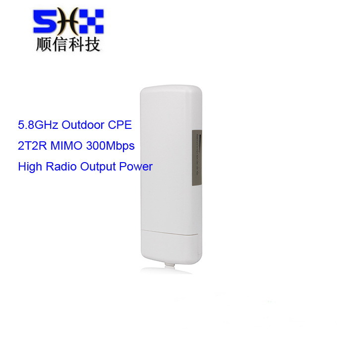 5.8Ghz 300Mbps Long Range Outdoor Wifi Access Point /CPE / AP/Bridge / Client / Router, Atheros AR9344