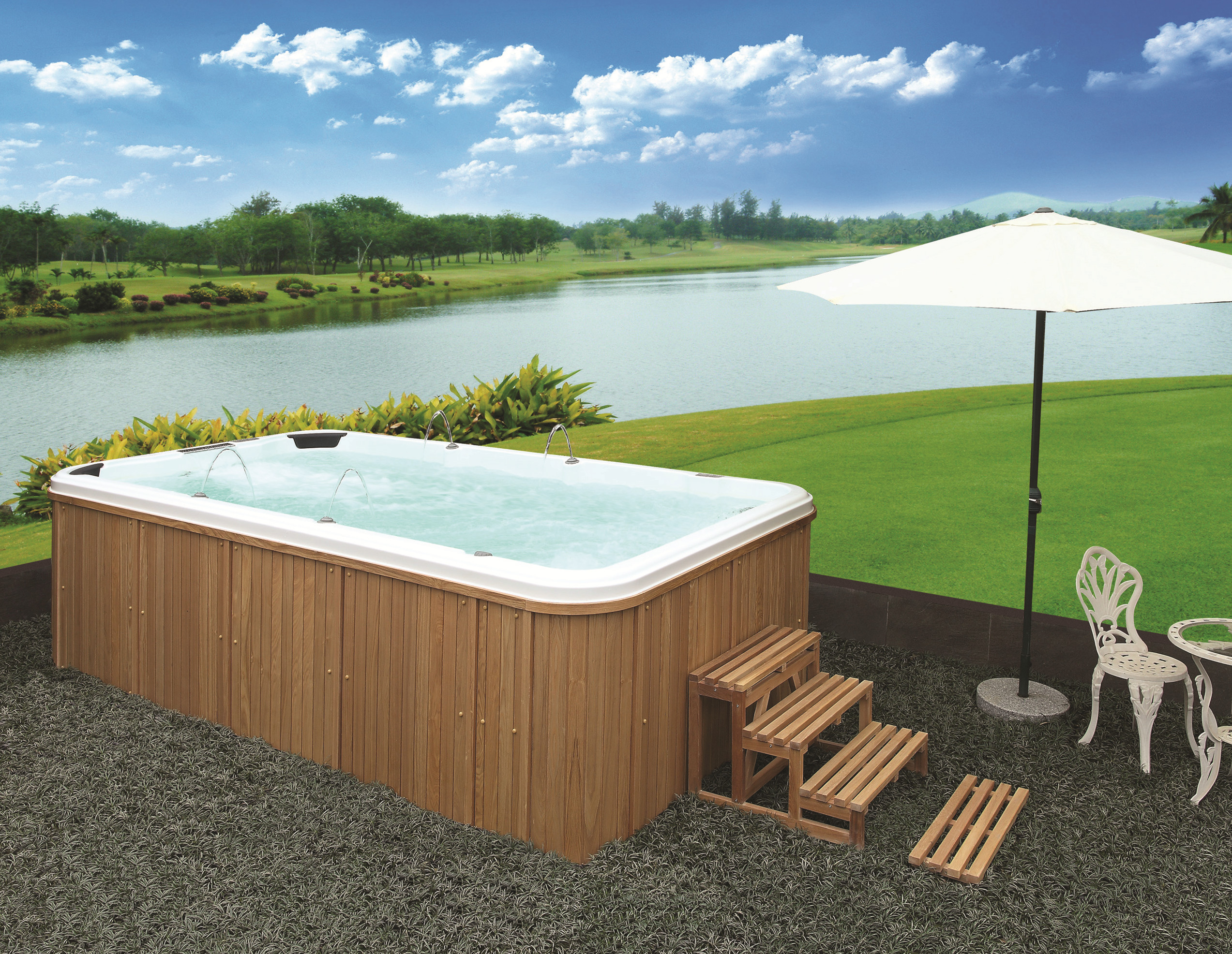 Outdoor Swim Spa Ws S04x