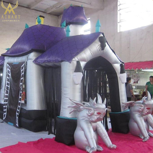 customized halloween inflatable Haunted house