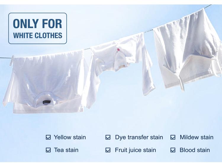 כביסה שותף אקונומיקה גיליונות יעיל כדי לעשות בגדים לבן
