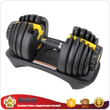 factory outlets gym club used crossfit bodybuilding 20kg adjustable dumbbell set