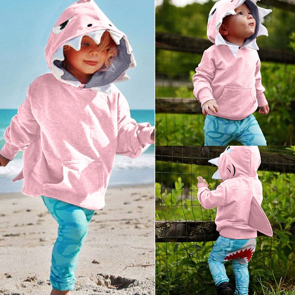 f1c1e2d17f71 Detail Feedback Questions about Baby Autumn Winter Shark Hooded ...