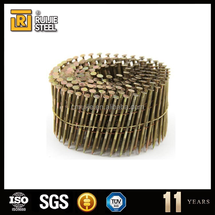 China manufacturer wholesale Coil Nails / Pallet Nails / Wire Coil