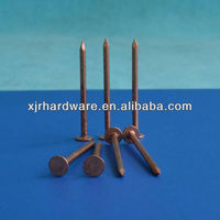 Copper Boat Square Nails