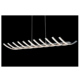 New design modern decorative aluminum hang lamp fancy indoor living room led pendant light