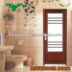 new design 2012 aluminium bathroom doors