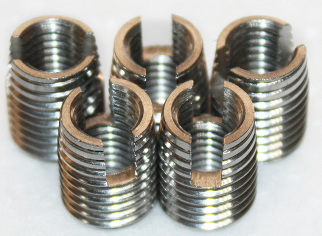 Inch screw thread self tapping wire inserts for