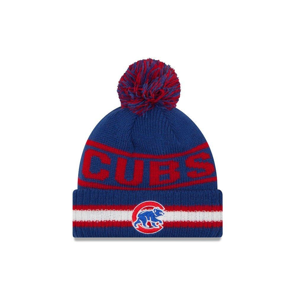 Get Quotations · Chicago Cubs New Era Vintage Select Pom Knit Beanie Hat    Cap 323b3de7bbb