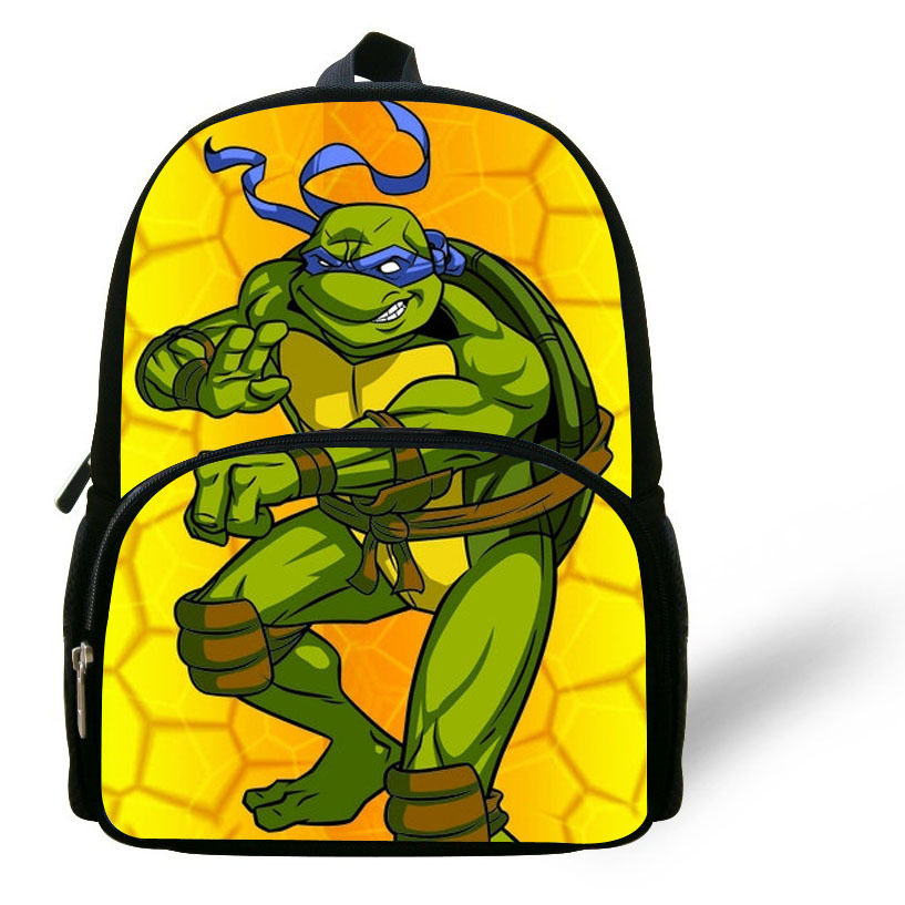 12 Inch Mochila School Kids Backpack Age Mutant Ninja Turtles Bag For Boys Cartoon Bags Gift 1 6 Children In Price On