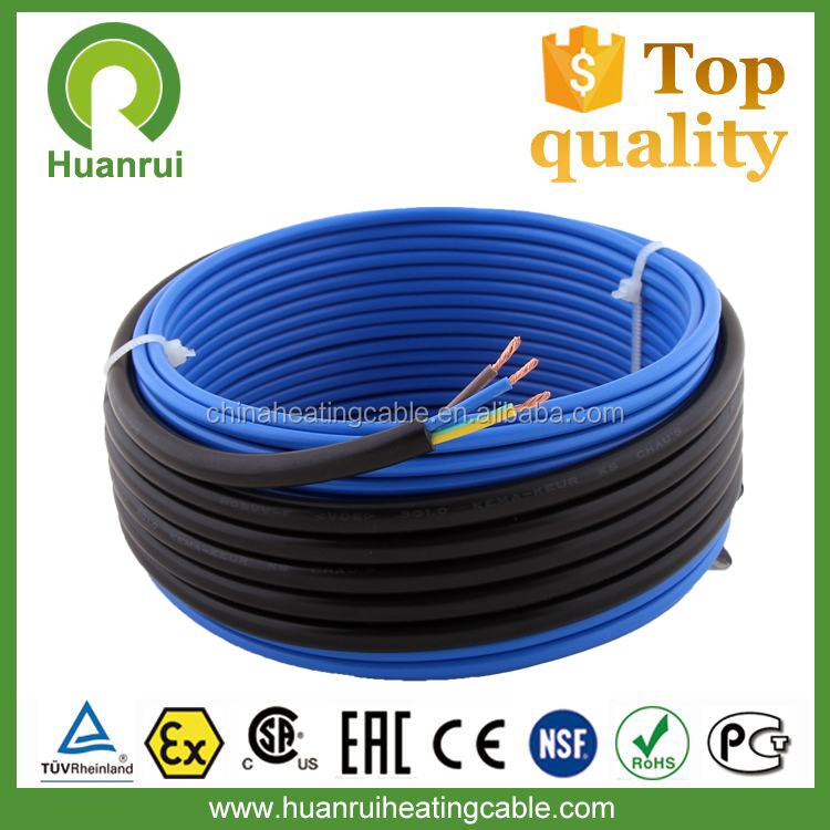 CE TUV CSA Certification Electric Underfloor Heating Cable