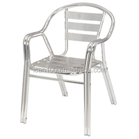 Metal Durable Stacking Iron Outdoors Chairs