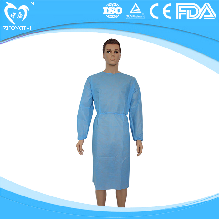 Disposable Apparel Non Woven Patient Gown Hospital Clothing For ...